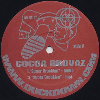 Cocoa Brovaz / Super Brooklyn' label