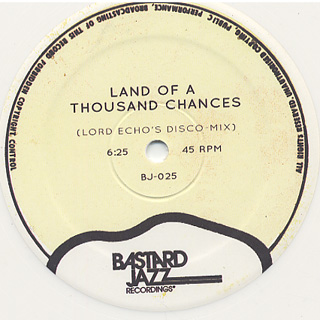 DJ Day & Lord Echo / Bohemian Idol c/w Land Of A Thousand Chances back