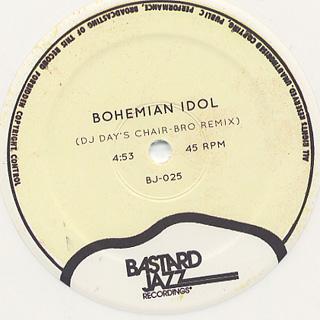 DJ Day & Lord Echo / Bohemian Idol c/w Land Of A Thousand Chances label