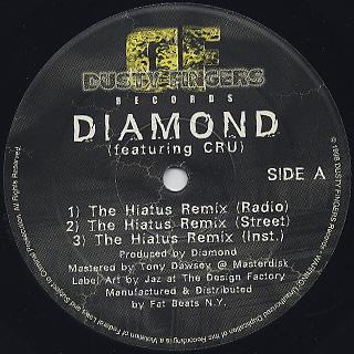 Diamond D / The Hiatus Remix c/w MC2