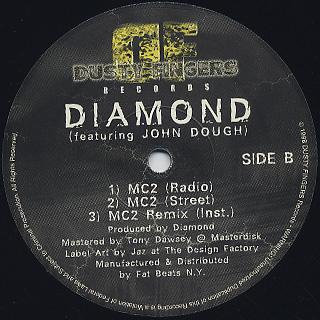 Diamond D / The Hiatus Remix c/w MC2 back