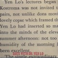 Dr. Yen Lo / Days With Dr. Yen Lo