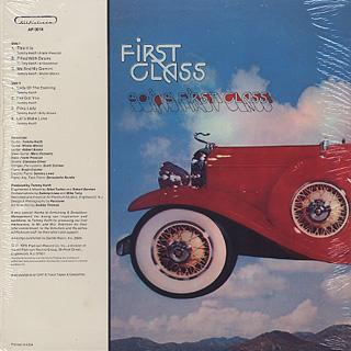 First Class / Going First Class back