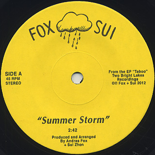 Fox & Sui / Summer Storm