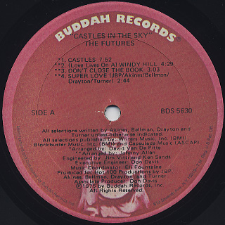 Futures / Castles In The Sky label