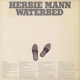 Herbie Mann / Waterbed back