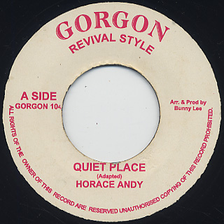 Horace Andy / Quiet Place