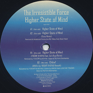 Irresistible Force / Higher State of Mind front