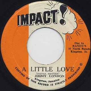 Jimmy London / A Little Love