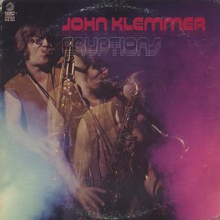 John Klemmer / Eruptions