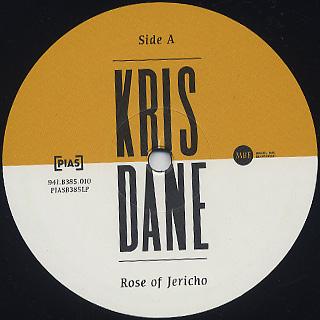 Kris Dane / Rose Of Jericho label