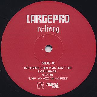 Large Pro / Re: Living label