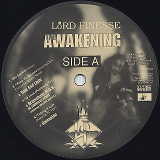 Lord Finesse / The Awakening label