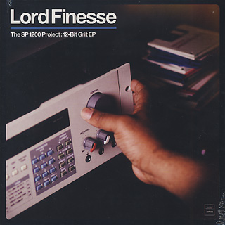 Lord Finesse / The SP1200 Project: 12-Bit Grit EP front
