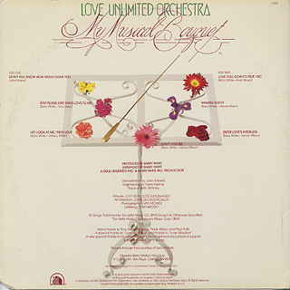 Love Unlimited Orchestra / My Musical Bouquet back