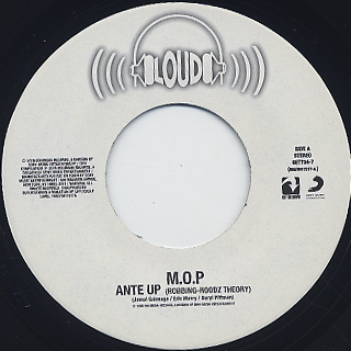M.O.P. / Ante Up c/w Ante Up (Remix) back