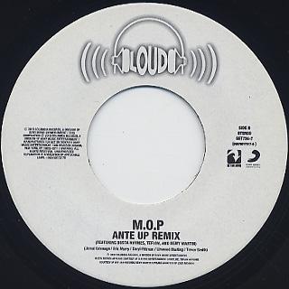 M.O.P. / Ante Up c/w Ante Up (Remix) label