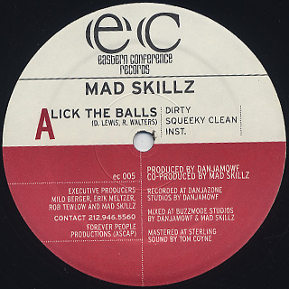 Mad Skillz / Lick The Balls c/w The Conceited Bastard