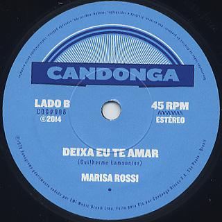 Marisa Rossi / Cinturao De Fogo back