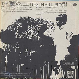 Marvelettes / In Full Bloom back
