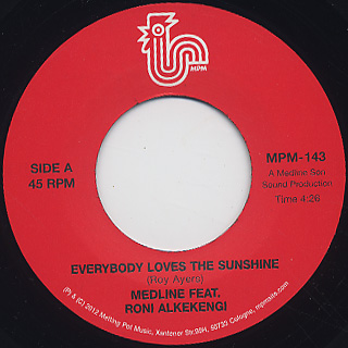 Medline / Everybody Loves The Sunshine