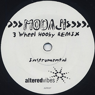 Modaji / 3 Wheel Hooky Remix back