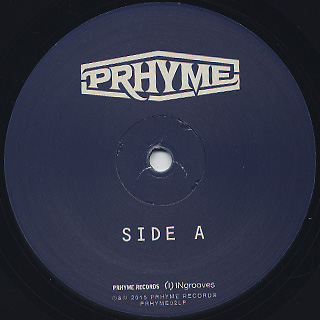 PRhyme / The Instrumental LP label