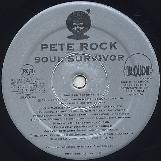 Pete Rock / Soul Survivor label