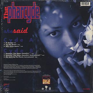 Pharcyde / She Said back