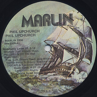 Phil Upchurch / S.T. label