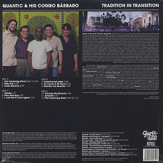 Quantic And His Combo Barbaro / Trandition In Transition back