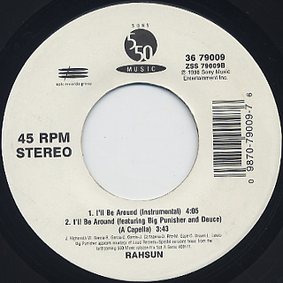 Rahsun / I'll Be Around (7
