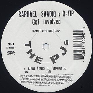 Raphael Saadiq & Q-Tip / Get Involved c/w Sy Smith / What I Am back