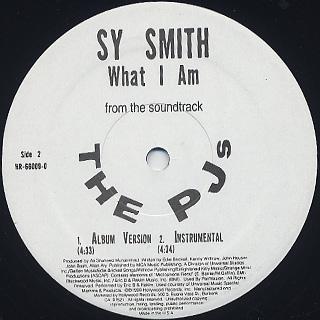 Raphael Saadiq & Q-Tip / Get Involved c/w Sy Smith / What I Am label
