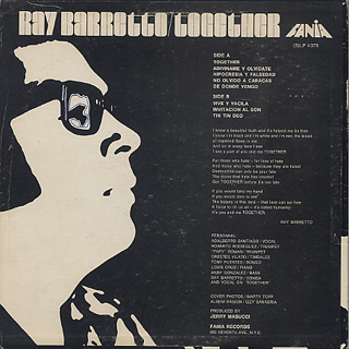 Ray Barretto / Together back