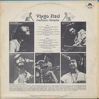 Roy Ayers Ubiquity / Virgo Red back