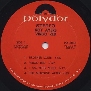Roy Ayers Ubiquity / Virgo Red label