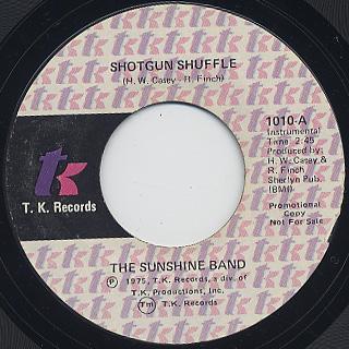 Sunshine Band / Shotgun Shuffle back