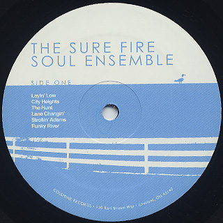 Sure Fire Soul Ensemble / S.T. label