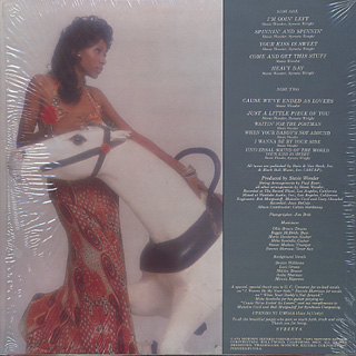 Syreeta / Stevie Wonder Presents Syreeta back