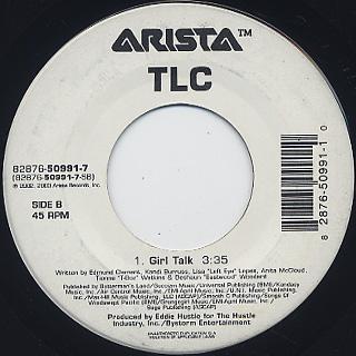 TLC / Hands Up c/w Girl Talk back