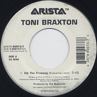 Toni Braxton / Hit The Freeway