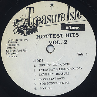 V.A. / Hottest Hits Vol.2 label