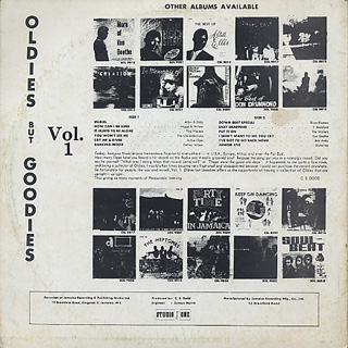 V.A. / Oldies But Goodies Vol.1 back