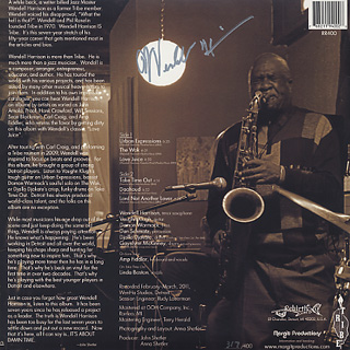 Wendell Harrison / It's About Damn Time (LP+CD) back