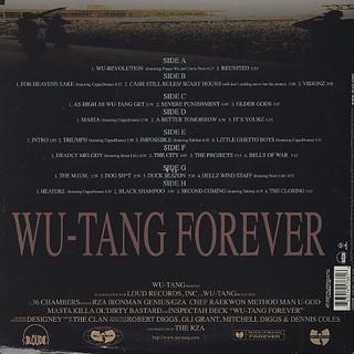 Wu-Tang Clan / Wu-Tang Forever back