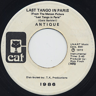 Antique / Last Tango In Paris front