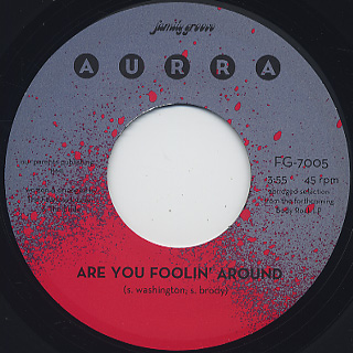 Aurra / Are You Foolin' Around front