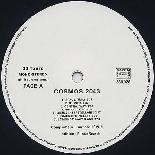 Bernard Fevre / Cosmos 2043 label