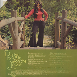 Denise LaSalle / On The Loose back